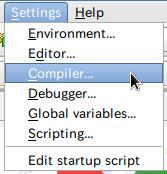 settingCompilerOptions